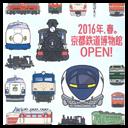 京都鉄道博物館ポスター・看板用イラスト